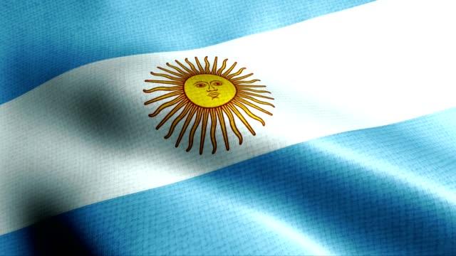 Argentina flag video