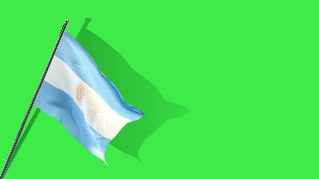 argentinian flag Rising video