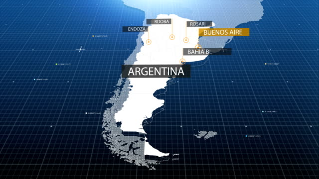 Argentinian map video