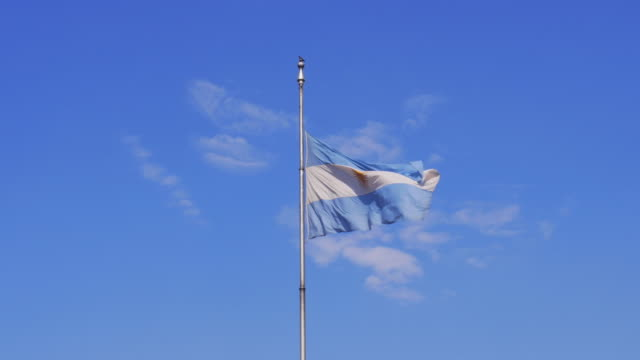 Argentinian National Flag video