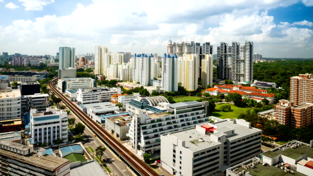 Arial View of Redhill Housing Estate Singapore