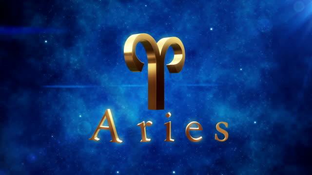 Aries (Zodiac Air Signs) | Loopable video