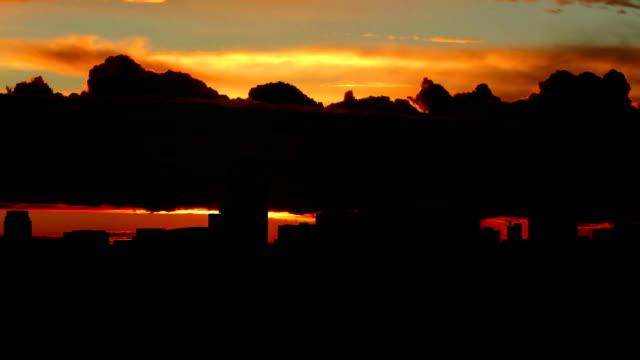 Arizona Phoenix downtown sunrise video