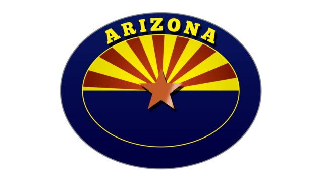 Arizona Travel Sticker and Stamps
