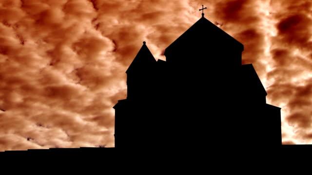 Armenia Hripsime orange clouds video