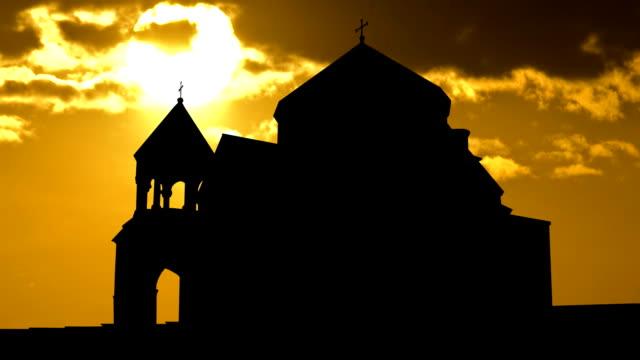 Armenia Hripsime sunset video