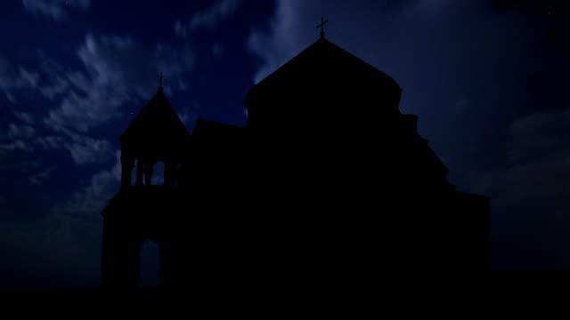 Armenia Hripsime thunderstorm video