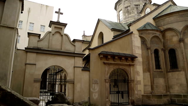 Armenian Cathedral of the Assumption of Mary in Lviv, Western Ukraine video