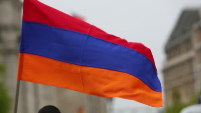 Armenian flag video