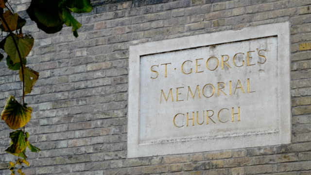 WW1 armistice day coming : Ypres St Georges Memorial Church poppy cascade video