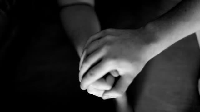 Armwrestling, black and white video
