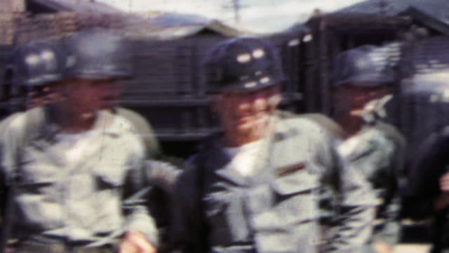 1951: US army grunt troops last photos before Korean War engagement. . veteran stock videos & royalty-free footage