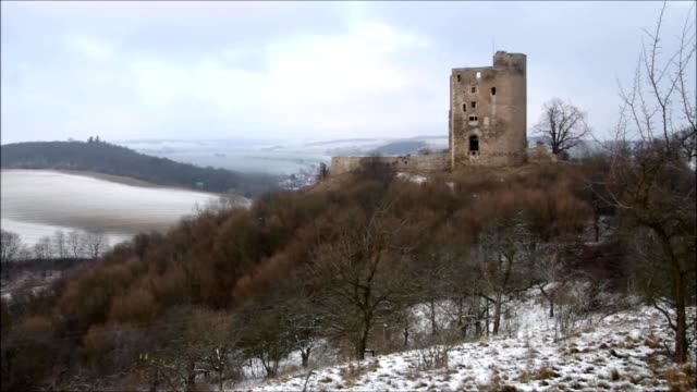Arnstein castle ruin video