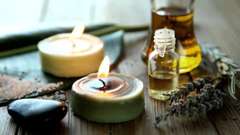 vidéos et rushes de l'aromathérapie - marchandise