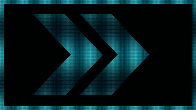 ok ekran led - arrows stok videoları ve detay görüntü çekimi