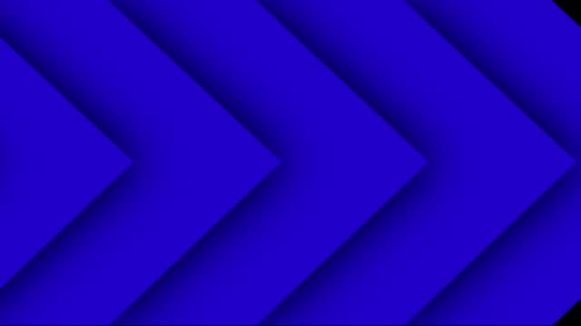 ok geçiş arka planlar, çok renkli, döngülü, 4k - arrows stok videoları ve detay görüntü çekimi