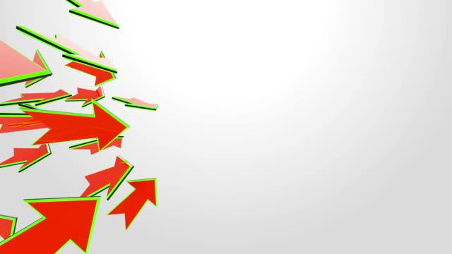 3D Arrows Animation video