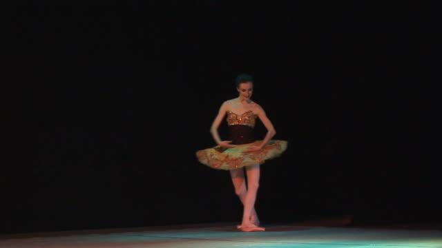 アートバレエ - バレエ点の映像素材/bロール