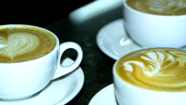 Art latte video