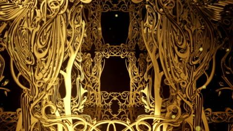 vídeos y material grabado en eventos de stock de art nouveau - ornamentado