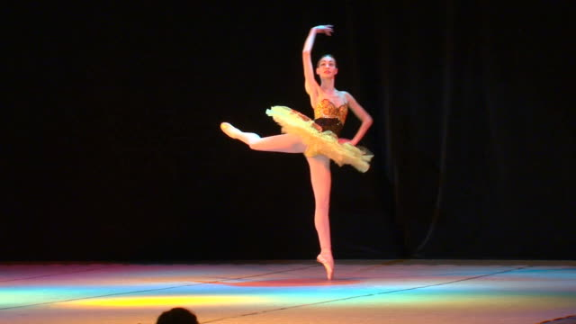 ロシアのバレエ - バレリーナ点の映像素材/bロール