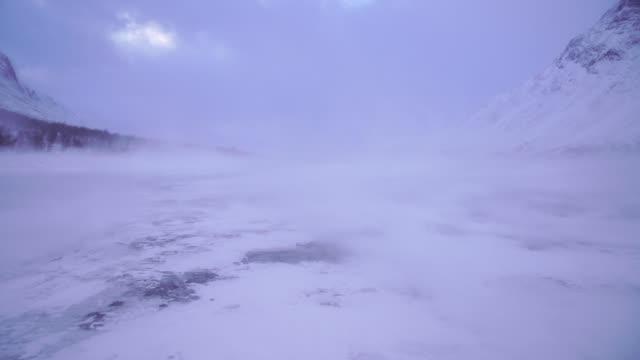 arktisk storm - norrbotten bildbanksvideor och videomaterial från bakom kulisserna