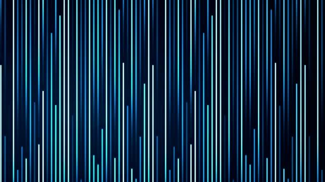 vídeos de stock e filmes b-roll de artificial abstract lines moving - reto descrição física