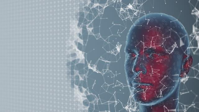 vídeos y material grabado en eventos de stock de inteligencia artificial y tecnología - parte del cuerpo humano