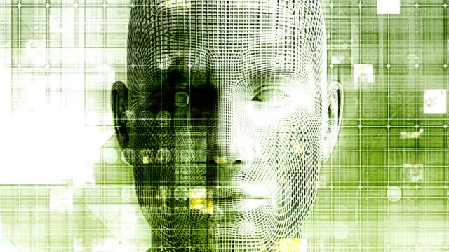 Artificial Intelligence Evolution with Digital Consciousness as Tech Concept Looping Artificial Intelligence Evolution with Digital Consciousness as Tech Concept Looping morality stock videos & royalty-free footage
