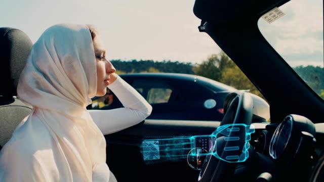 vídeos de stock, filmes e b-roll de inteligência artificial no carro - veículo terrestre