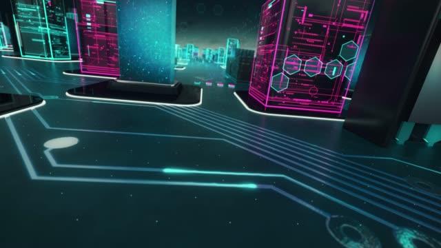 vídeos de stock e filmes b-roll de artificial intelligence with digital technology concept - génio conceito