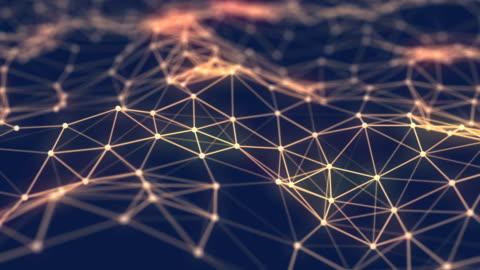 reti neurali artificiali e deep learning - network video stock e b–roll