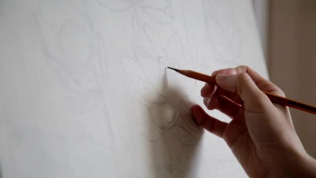 Artist Makes a Sketch video