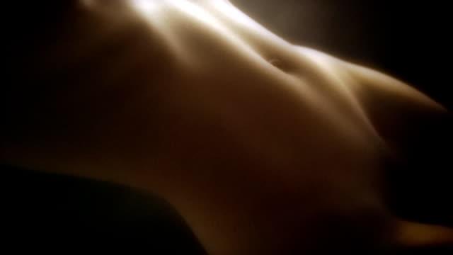 Künstlerische nude Hintergrund. Schlaufe. PAL – Video