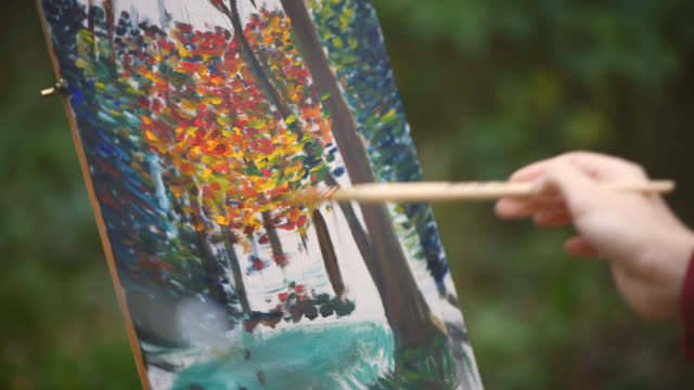 b37edc6ee Best Impressionism Stock Videos and Royalty-Free Footage - iStock