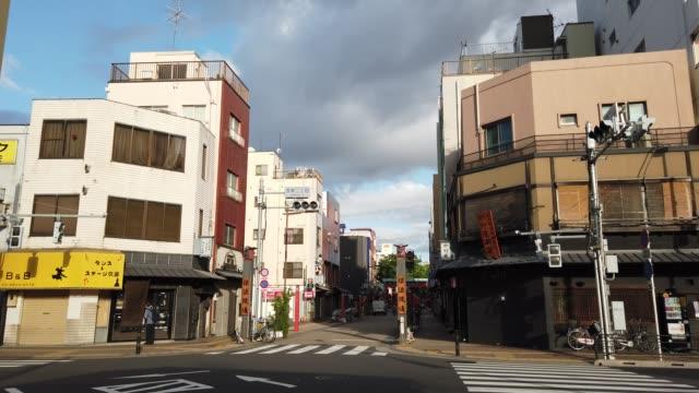 淺草在日本 東京, 風景 - 非都市風光 個影片檔及 b 捲影像
