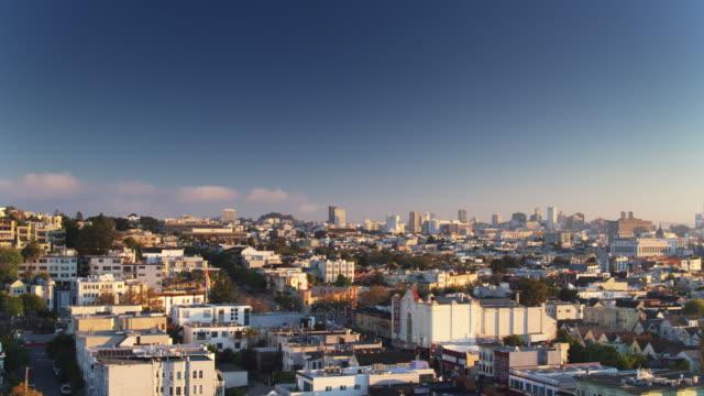 Ascending Drone Shot of the Castro, San Francisco video