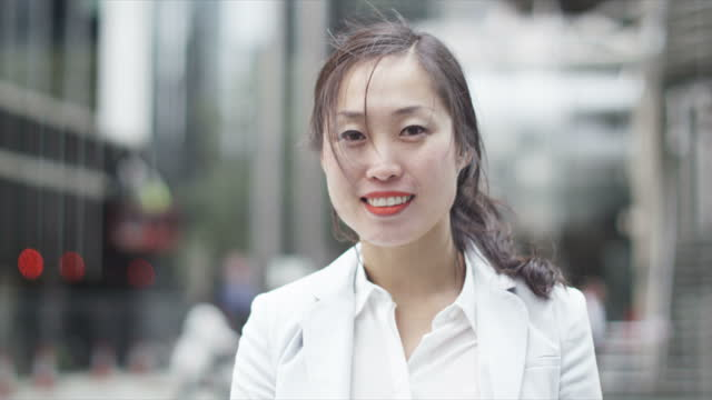 Asian Business People in City video