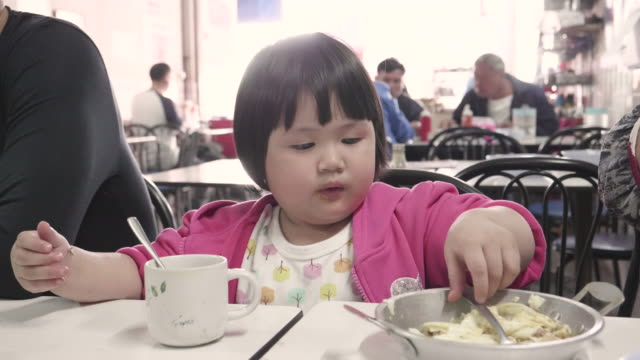 Asian Fat Girl In Breakfast Time video
