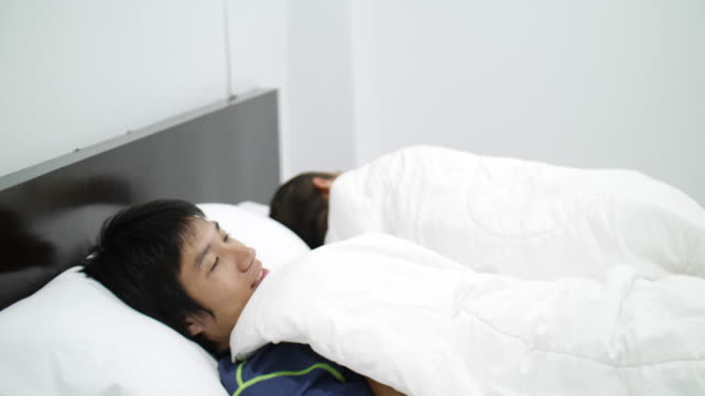 Asian Gay Couple Homosexual Couple On Bed video