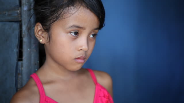 Asian girl portrait - Philippines video