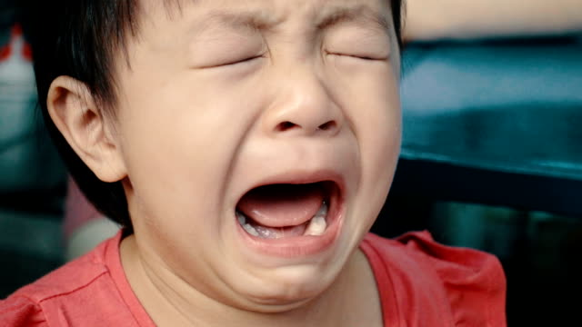Asian Little Girl Cries Really Emotional video
