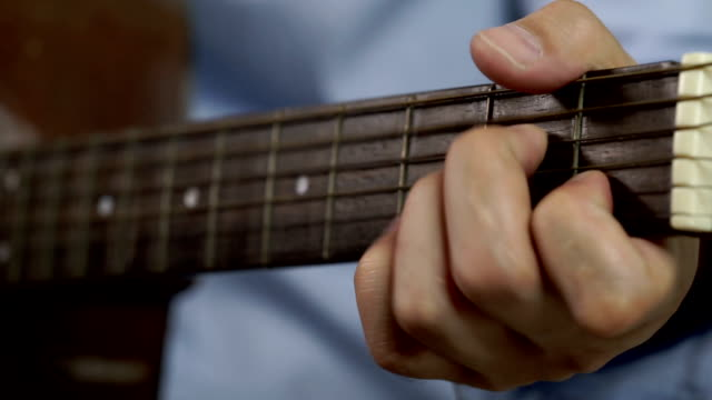 Royalty Free Guitar Chord Hd Video 4k Stock Footage B Roll Istock