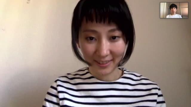ビデオチャットをしているアジアの男女 - テレビ会議 日本人点の映像素材/bロール
