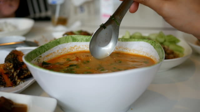 asian spicy soup video
