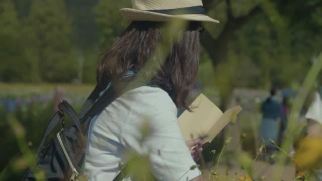 Asian Woman Farmer Checking video