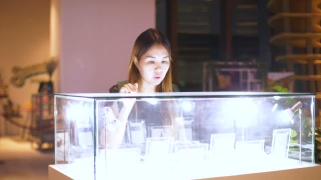 Asian Women Enjoy To Shopping video