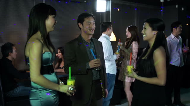Asian clup party video, real naked white girls