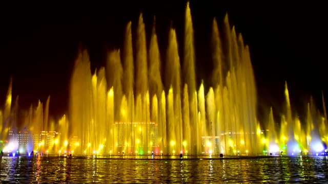 Asia's largest integrated music fountain 02 video