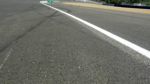 Asphalt Road With White Stripes video
